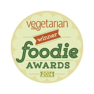 Vegetarian Times Winner logo