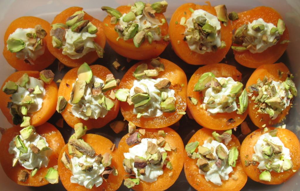 Chevre-Stuffed-Apricots-wPistachios