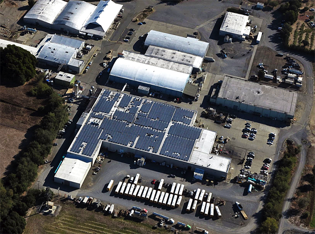 Redwood Hill Farm & Creamery solar system