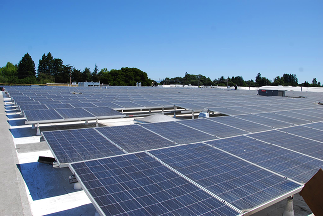 California made solar panels at Redwood Hill Farm & Creamery
