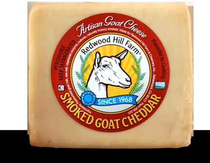 Aged Goat Cheddar Cheese - Redwood Hill Farm