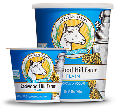 Plain Goat Milk Yogurt - Redwood Hill Farm